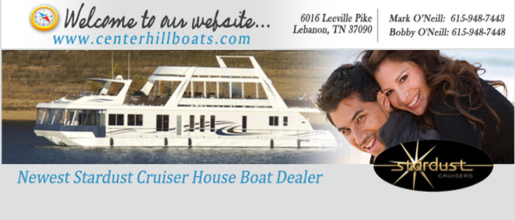 Stardust Cruiser house boats for sale lebanon tn