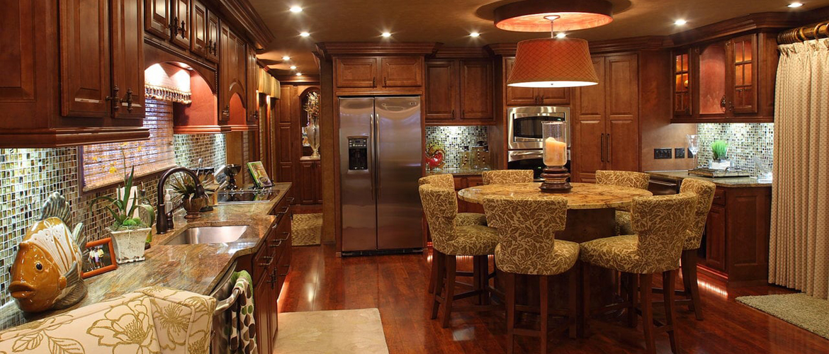 Sharpe houseboats interior